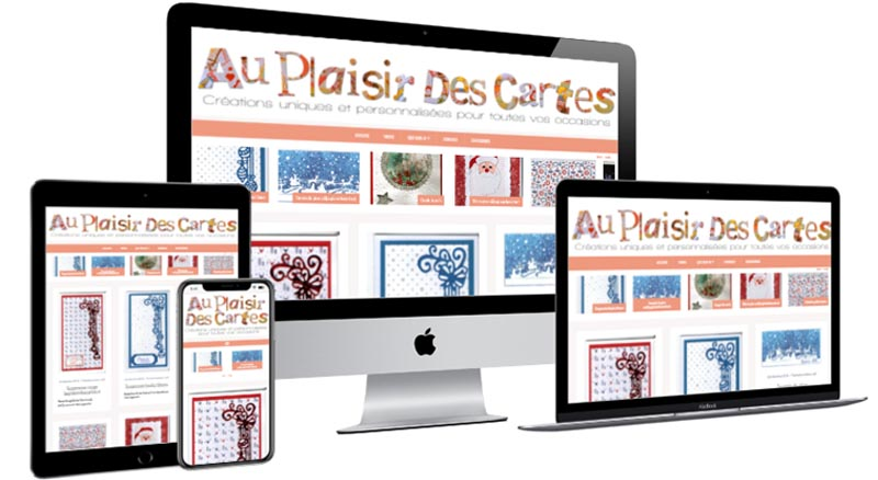 WEBSITE AU PLAISIR DES CARTES