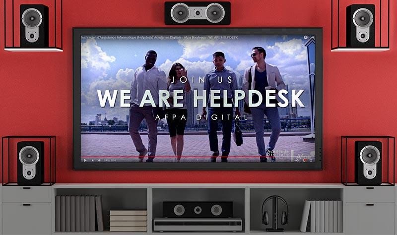 TEASER ADB AFPA «WE ARE HELPDESK»